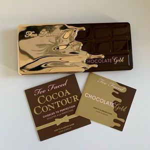 Too Faced Chocolate Gold Palette NWOT